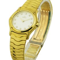 Ebel 8157111 Classic Wave - Yellow Gold on Bracelet with MOP...