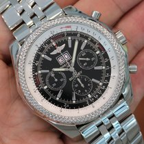 "Breitling ""bentley 6.75"" Stainless Steel Black Dial..."