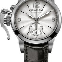 Graham 2CXAS.S07A Chronofighter 1965 42mm in Steel - On Black...