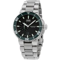 Oris Aquis Automatic Gray Dial Stainless Steel Men's Watch...