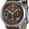 Baume &amp;amp; Mercier Capeland Brown Dial Chronograph Mens Watch...
