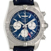 Breitling Chronomat 44 GMT Stahl Automatik Chronograph 44mm...