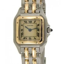 Cartier Panthère Steel, Yellow Gold