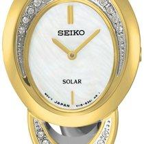Seiko Solar SUP296P1 Elegante Damenuhr Mit Kristallsteinen