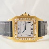 Cartier Santos Galbee 18k Yellow gold Diamonds