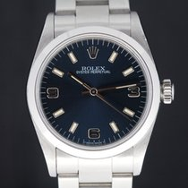 Rolex Oster perpetual 3-6-9 blue dial