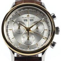Maurice Lacroix Les Classiques Chronograph 40 Yellow Gold Details