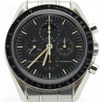 Omega Speedmaster Rare Moonphase Chronometer Stainless Steel...
