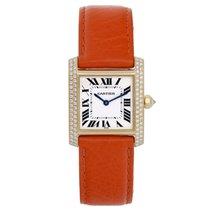 Cartier Tank Francaise Midsize 18k Yellow Gold Watch