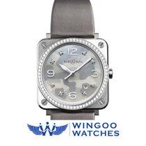Bell & Ross BR S Quartz 39mm Midsize Watch Ref. BRS-CAMO-S...