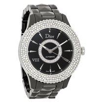 Dior VIII Diamond Ceramic Swiss Automatic Watch CD1245E2C001