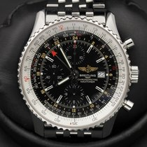 Breitling Navitimer - World - GMT - A24322 - Black Dial -...