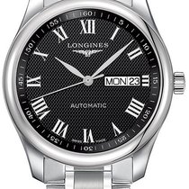 Longines Master Automatic 38.5mm L2.755.4.51.6 Stainless Steel...