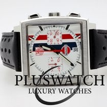 TAG Heuer MONACO Vintage Limited Editiion Gulf White Dial ...