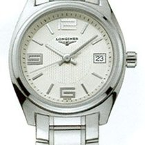 Longines L31324766 Lungo Mare Stainless Steel Ladies Watch