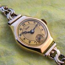 Siduna rare WW2 time vintage 14ct golden, with golden bracelet