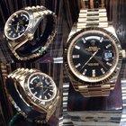 Rolex UNWORN DAYDATE 40 228238 DIAMOND BAGUETTE 18CT YELLOW GOLD