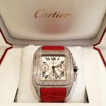 Cartier Santos 100 XL Chronograph Diamond