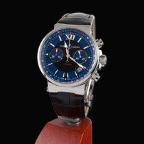 Ulysse Nardin maxi marine chronograph stell automatic