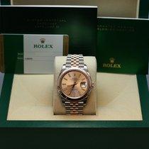 Rolex Datejust II 41mm Steel & Rose Gold Fluted Bezel