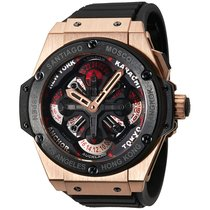 Hublot [NEW] King Power Unico GMT King Gold Ceramic 771.OM.117...