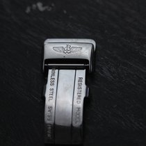 Breitling Stainless Steel Fold Clasp 16 mm
