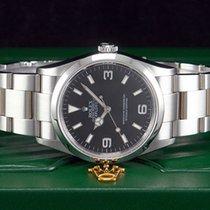 Rolex Explorer I Stahl REHAUT-GRAVUR Referenz 114270 BESTZUSTAND