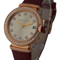 Bulgari Lucea Date Ladies 33mm Automatic in Rose Gold