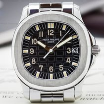 Patek Philippe Aquanaut Automatic Black Dial SS / SS