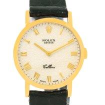 Rolex Cellini Classic Yellow Gold Anniversary Dial Ladies...
