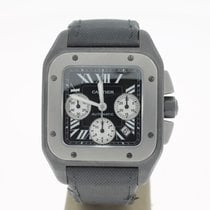 Cartier Santos XL 100 Chronograpg titanium (B&P2011) 46MM