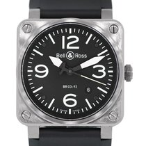 Bell & Ross BR03-92 Aviation Stainless Steel Watch