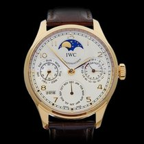IWC Portuguese Perpetual Calendar MoonPhase 18k Rose Gold...