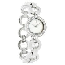 Movado Bela Moda Diamond Ladies Stainless Steel Swiss Quartz...
