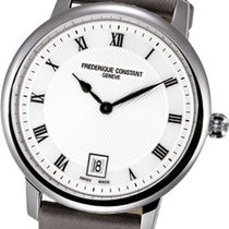 Frederique Constant FC Slim Line 37mm Satinband LP 850€ VHB