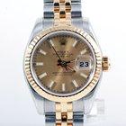 Rolex Ladies 179173 Datejust - Champagne Stick Marker Dial