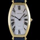 Cartier 18k Yellow Gold Tonneau Cintrée Mid-Size B&P