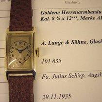 A. Lange & Söhne Glashütte vintage Armbanduhr in 14k  von...
