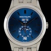 Patek Philippe 18k W/G Blue Dial Annual Calendar 5396/1G-001