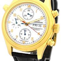 """IWC """"Flieger Doppelchronograph"""" Strapwatch."""