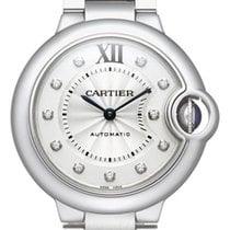 Cartier Ballon Bleu Automatic Diamonds Ladies Watch WE902074