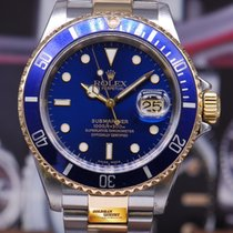 Rolex Oyster Perpetual Submariner Blue Ref 16613 (mint)