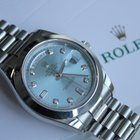 Rolex Day Date 40mm Automatic Ice Blue Dial Platinum