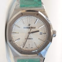 Audemars Piguet Royal Oak 41mm Silver Dial Full Stainless...