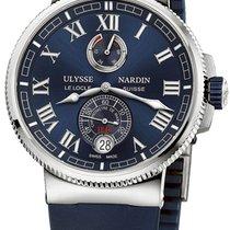 Ulysse Nardin Marine Chronometer Manufacture Stainless Steel