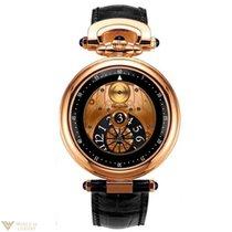 Bovet Fleurier Jumping Hours Amadeo 18k Rose Gold Men's Watch