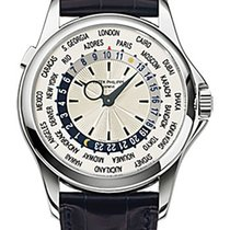 Patek Philippe World Time Complicated White Gold 5130G-001