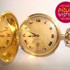 Movado Pocket Watch Yellow Gold