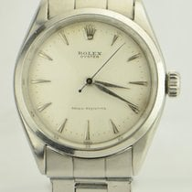 Rolex Oyster Stainless Steel White Dial REF: 6480