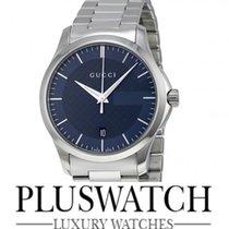 Gucci G-Timeless Blue Dial YA126440 T